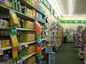dollar tree inside
