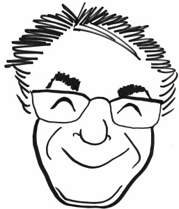 larry's face-caricature