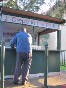 crepe in the park